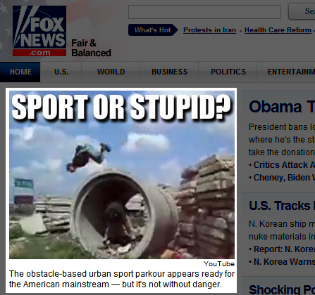 Fox News - Parkour